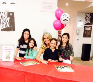 Tamara - Canada's Perfect Miss 2014 signing autographs. :)